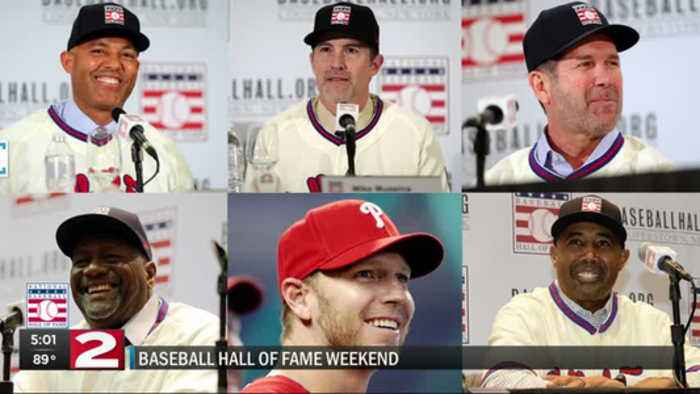 6 baseball greats, led by Mariano Rivera, to join Baseball HOF this weekend