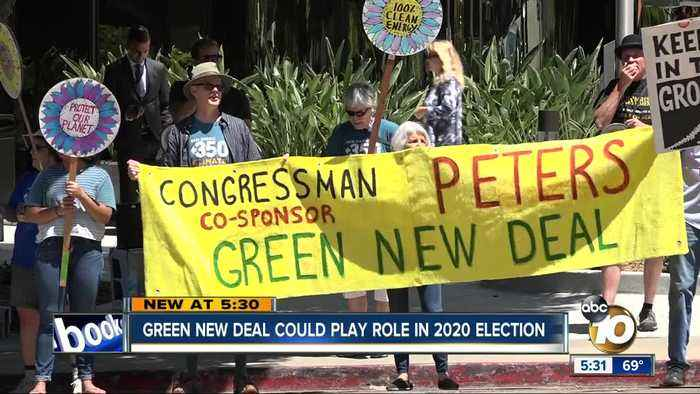 Green New Deal could play role in 2020 election