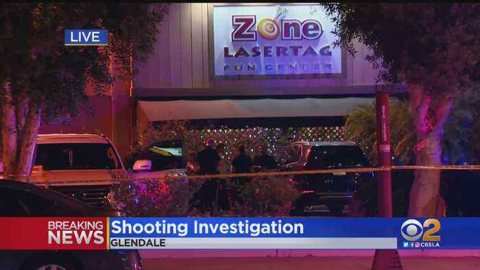 1 Shot And Wounded At Laser Tag Business In Glendale