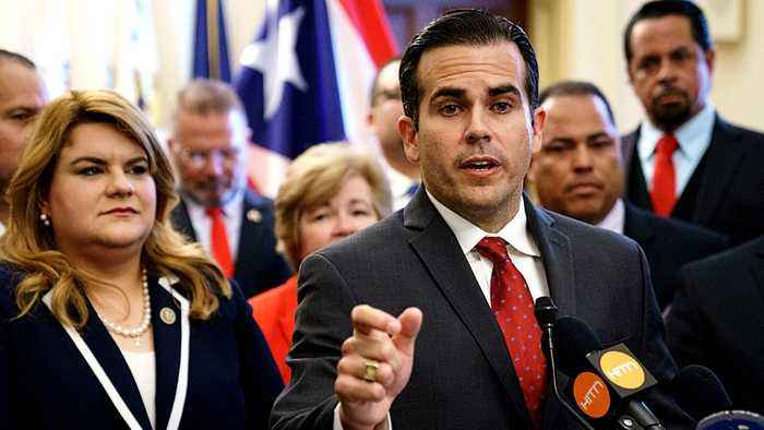 Puerto Rico protesters continue to demand governor's resignation