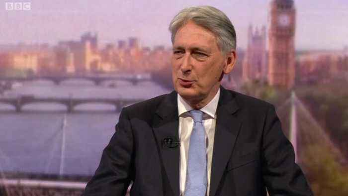 Chancellor Philip Hammond announces he will resign if Boris Johnson becomes PM
