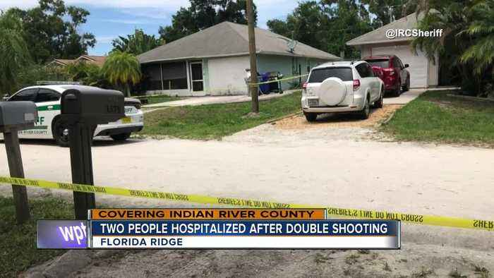 2 people hospitalized after double shooting near Vero Beach