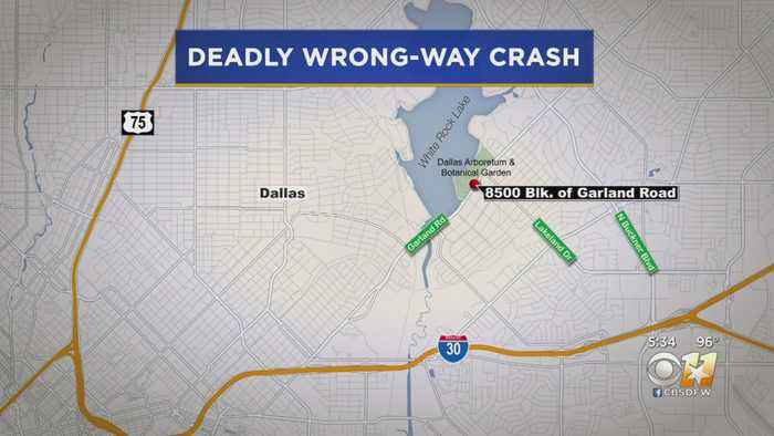 Wrong-Way Driver Killed In Dallas Accident