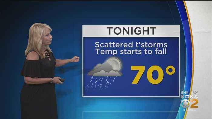 KDKA-TV Weekend Forecast (7/21)