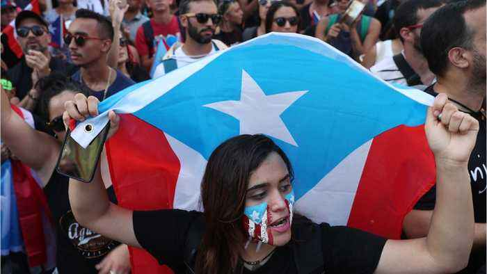Puerto Rico Governor Not Seeking Re-election