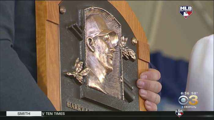 Brandy Halladay Delivers Emotional Speech For Roy Halladay's Baseball Hall Of Fame Induction