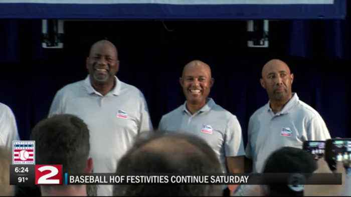 7-20 Baseball Hall of Fame inductees discuss being in Cooperstown and getting into Hall