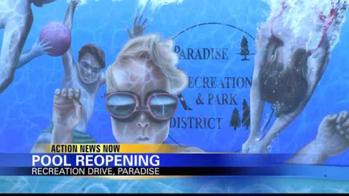 Paradise pool is opening again