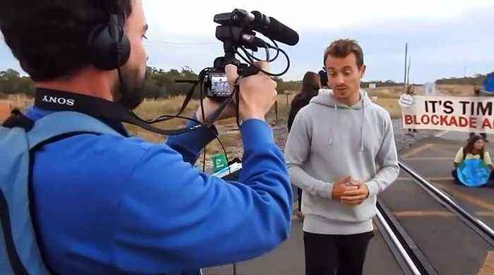 French journalist says it was 'very weird' that he was arrested while reporting in Australia