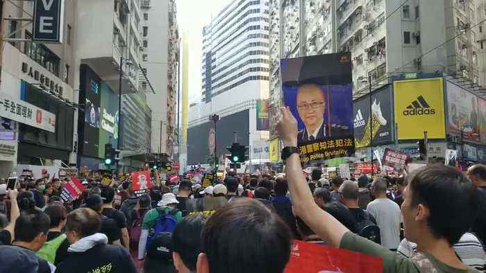 Latest protest in Hong Kong against China extradition bill