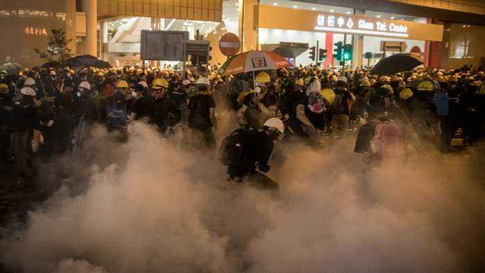 Dozens Injured After Mob Attacks Hong Kong Protesters