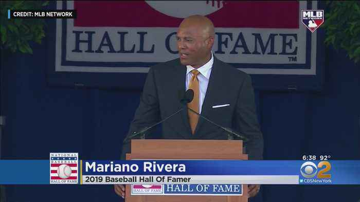 Mariano Has His Day In Cooperstown