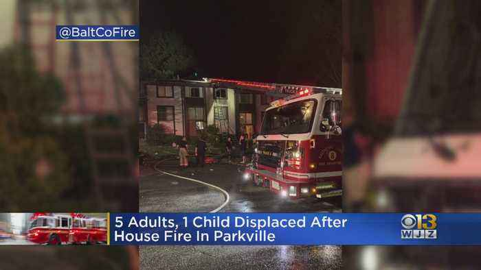 5 Adults, Child Displaced After Fire In Parkville