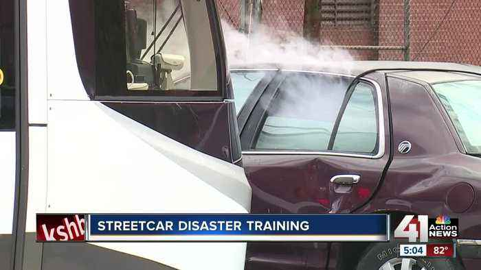 Streetcar disaster training