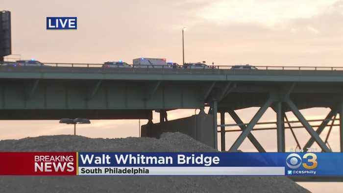 1 Person Injured In Police-Involved Shooting On Walt Whitman Bridge, Police Say