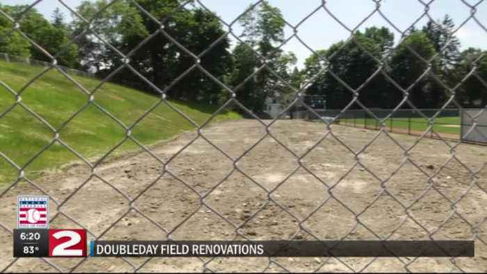 Baseball HOF fans to notice changes at Doubleday Field