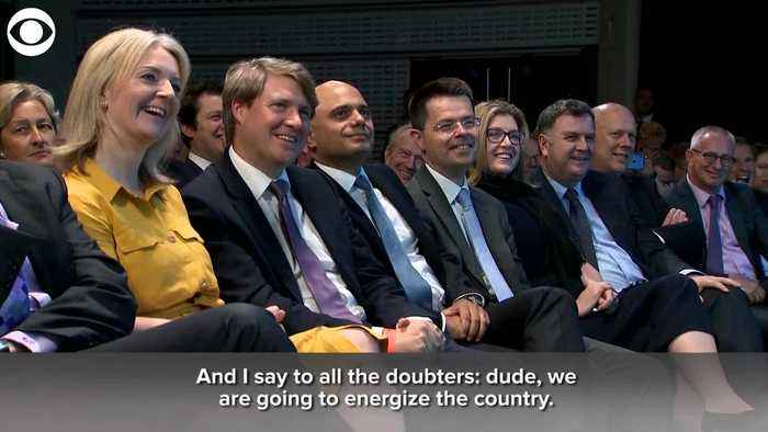 WEB EXTRA: Boris Johnson: 'Dude, We Are Going To Energize The Country