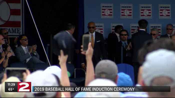 Relive the 2019 Baseball Hall of Fame induction ceremony