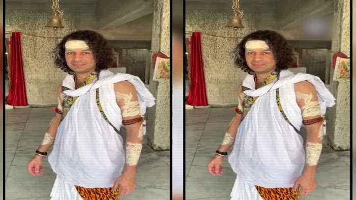 Watch: Tej Pratap dresses up as Lord Shiva, offers prayer at temple in Patna