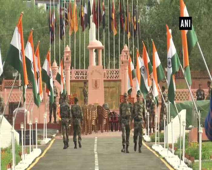 Kargil Vijay Diwas Preparations in full swing at Drass War Memorial