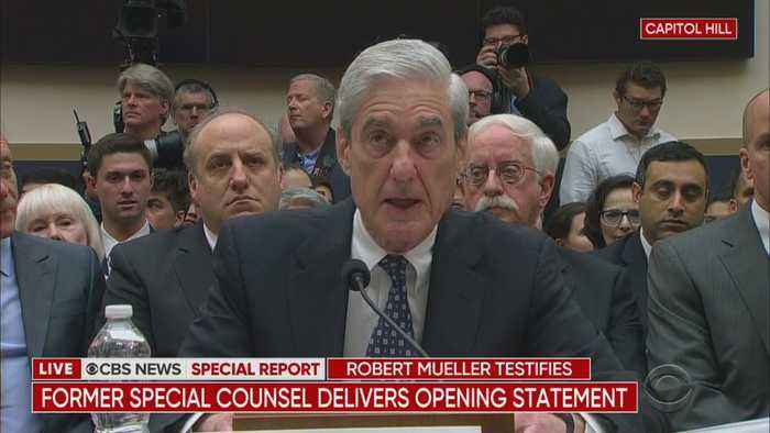 Robert Mueller Delivers Opening Statement To House Judiciary Committee