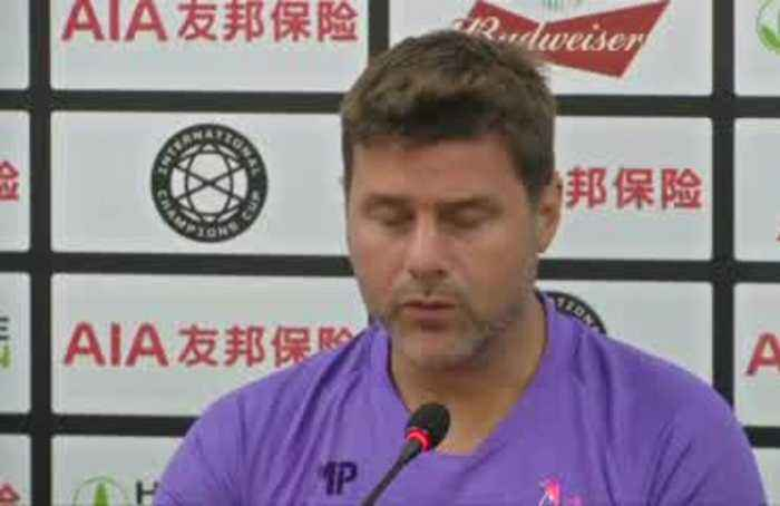 Tottenham gear up to play against Manchester United in ICC Shanghai