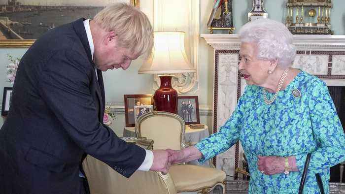 In pictures: Boris Johnson confirmed as Prime Minister by the Queen