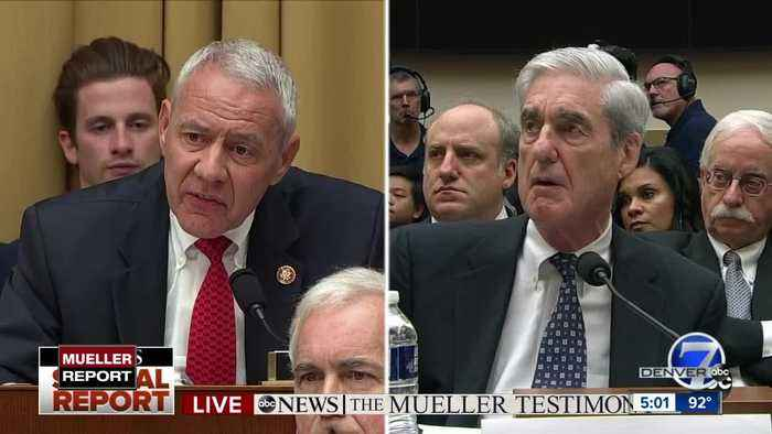Mueller tells Buck Trump could be charged after leaving office, Neguse asks about Trump Tower