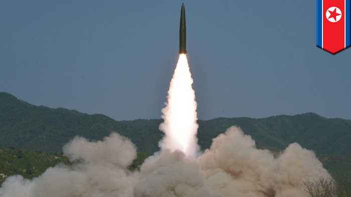 North Korea launches two short-range missiles into East Sea