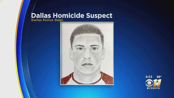 Police Release Sketch Of Wanted Dallas Murder Suspect