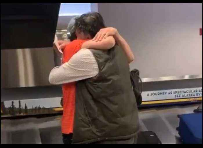 Man Surprises Brother at Anchorage Airport After 20 Years Apart