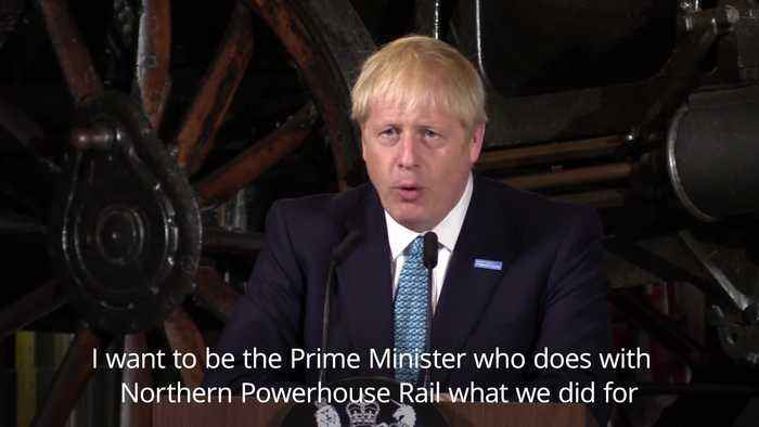PM pledges a £3.6bn boost for towns and a trans-Pennine rail line