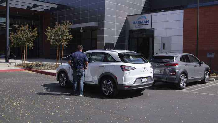 2020 Hyundai Nexo Remote Parking Demo One News Page Video