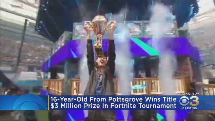 16-Year-Old From Pottsgrove Wins $3 Million In Fortnite Tournament