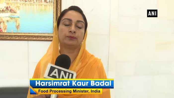 Harsimrat Badal shows her satisfaction over Pak's decision of removing Gopal Singh Chawla from PSGPC