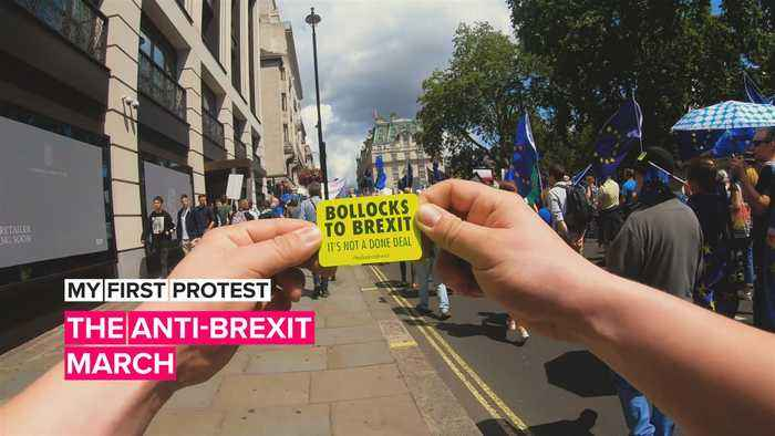 My First Protest: The U.K.'s March for Change goes after Brexit
