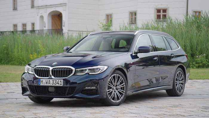 The all-new BMW 3 Series Touring Design Exterior