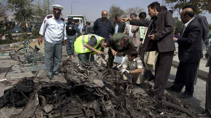 UN: Number Of Afghan Civilian Casualties Is Down, But Still Grim