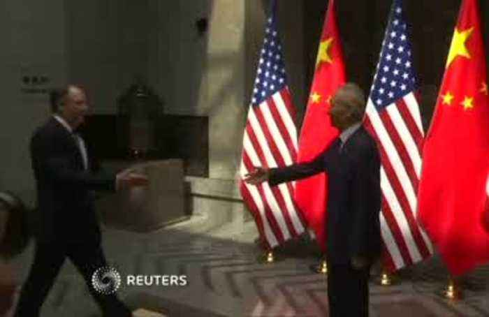China, U.S. officials meet for trade talks in Shanghai