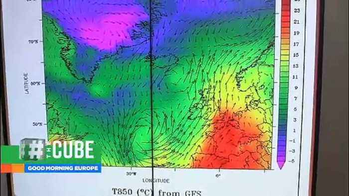 Greenland ice sheet 'rapidly melting' as Europe heatwave moves north