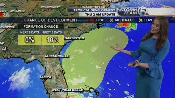 Thursday morning tropical update (8/1/19)