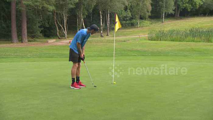 New Zealander claims victory at British Open Speedgolf Championships held in Surrey
