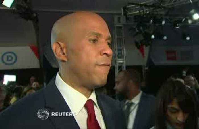 Cory Booker turns the heat up on Biden after debate