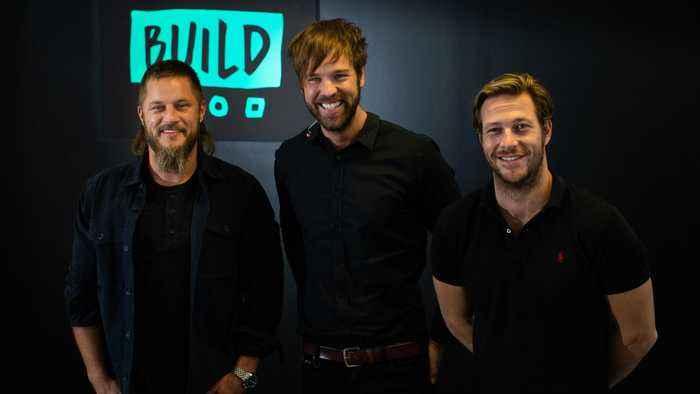 Travis Fimmel and Luke Bracey on 'Danger Close', James Bond rumours and million-dollar beards