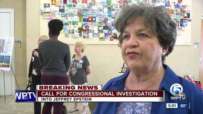Congresswoman Lois Frankel calls for investigation into Jeffrey Epstein
