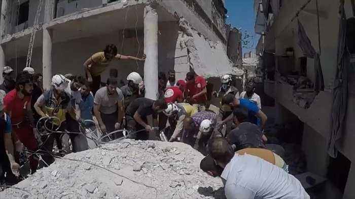 UN to probe attacks on humanitarian sites in northwestern Syria