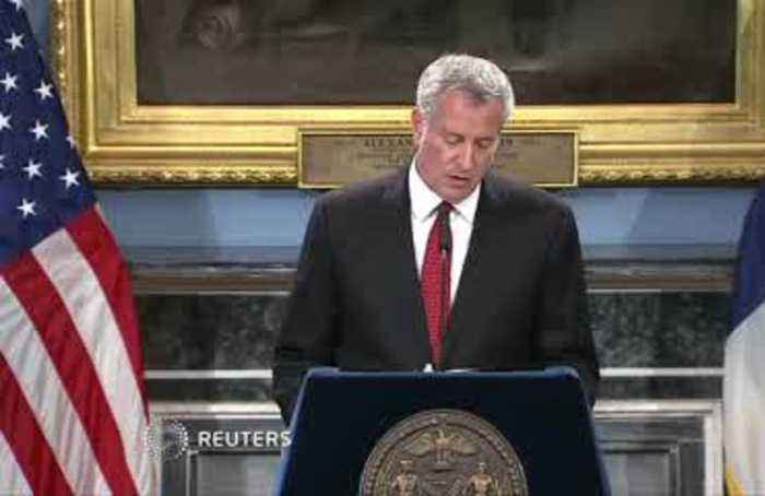 Eric Garner officer ruling 'step towards justice': de Blasio