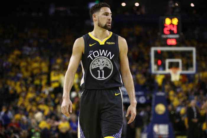 Klay Thompson Says ACL Injury Is 'Most Tragic Part of Sports'
