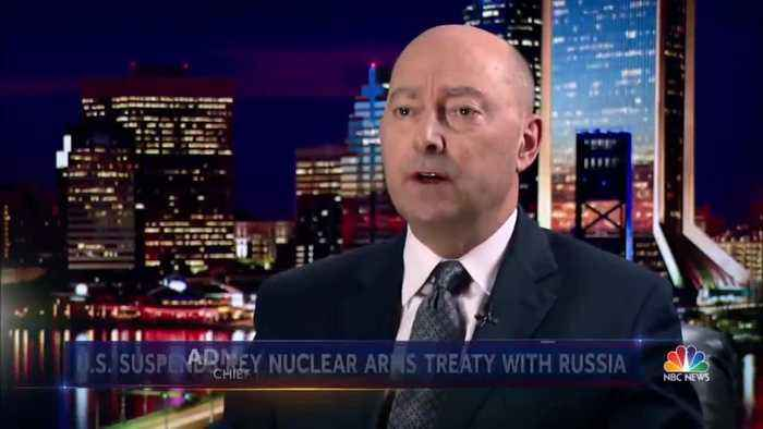 Trump To Withdraw From Cold War-Era Nuclear Weapons Treaty With Russia