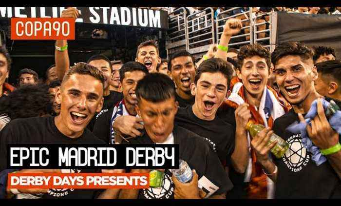 Atletico Madrid Stun Real Madrid in New York | Derby Days Presents...